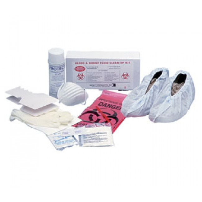 Impact 7353 Bloodborne Pathogen Kit W Disinfectant Plant