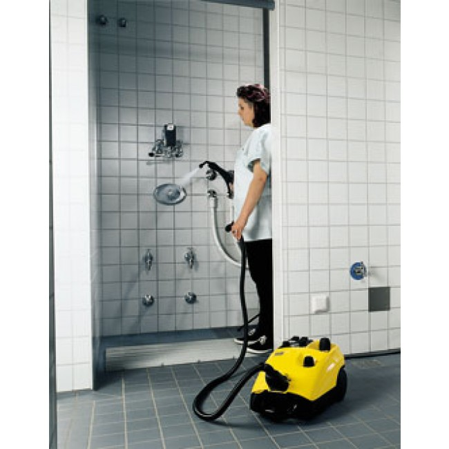 Etonnant Tornado DE4002 Steam Vapor Cleaner · Tornado DE4002 Cleaning Shower Areas  ...